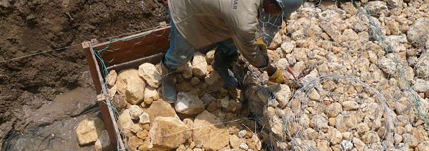 Control de erosión y obras geotécnicas