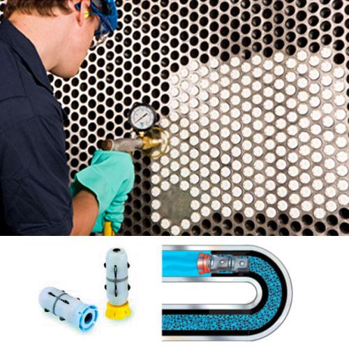 limpieza de condensadores