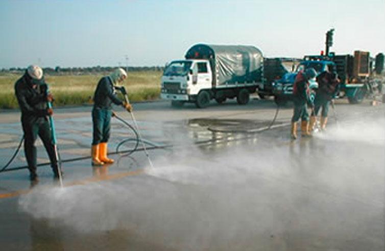 Limpieza de pistas de aerepopuertos